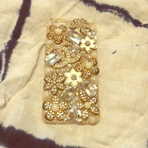 Bedazzled Apple iPhone 5/5s Case Great Condition!